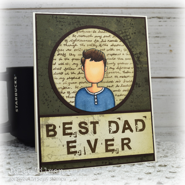 Father's day card by Julee Tilman