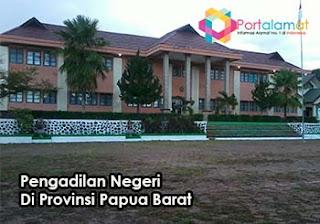 Alamat Pengadilan Negeri Di Papua Barat