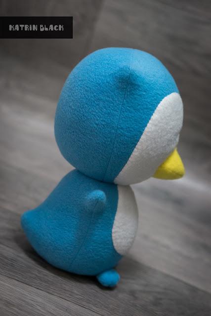 Мягкая игрушка ручной работы. Пингвин по фото. Заказать.