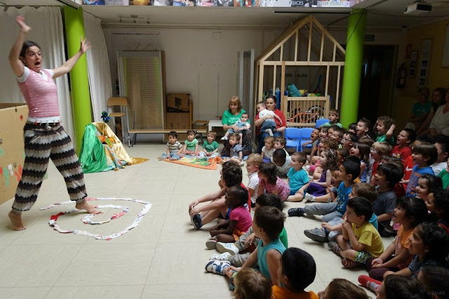 teatro para bebés, escuela infantil