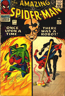 Amazing Spider-Man #37 cover. first appearance of Norman Osbourne