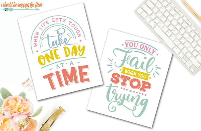 Inspirational Quotes to Print