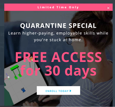 Udacity's One Free Month Access to Nanodegree Programs