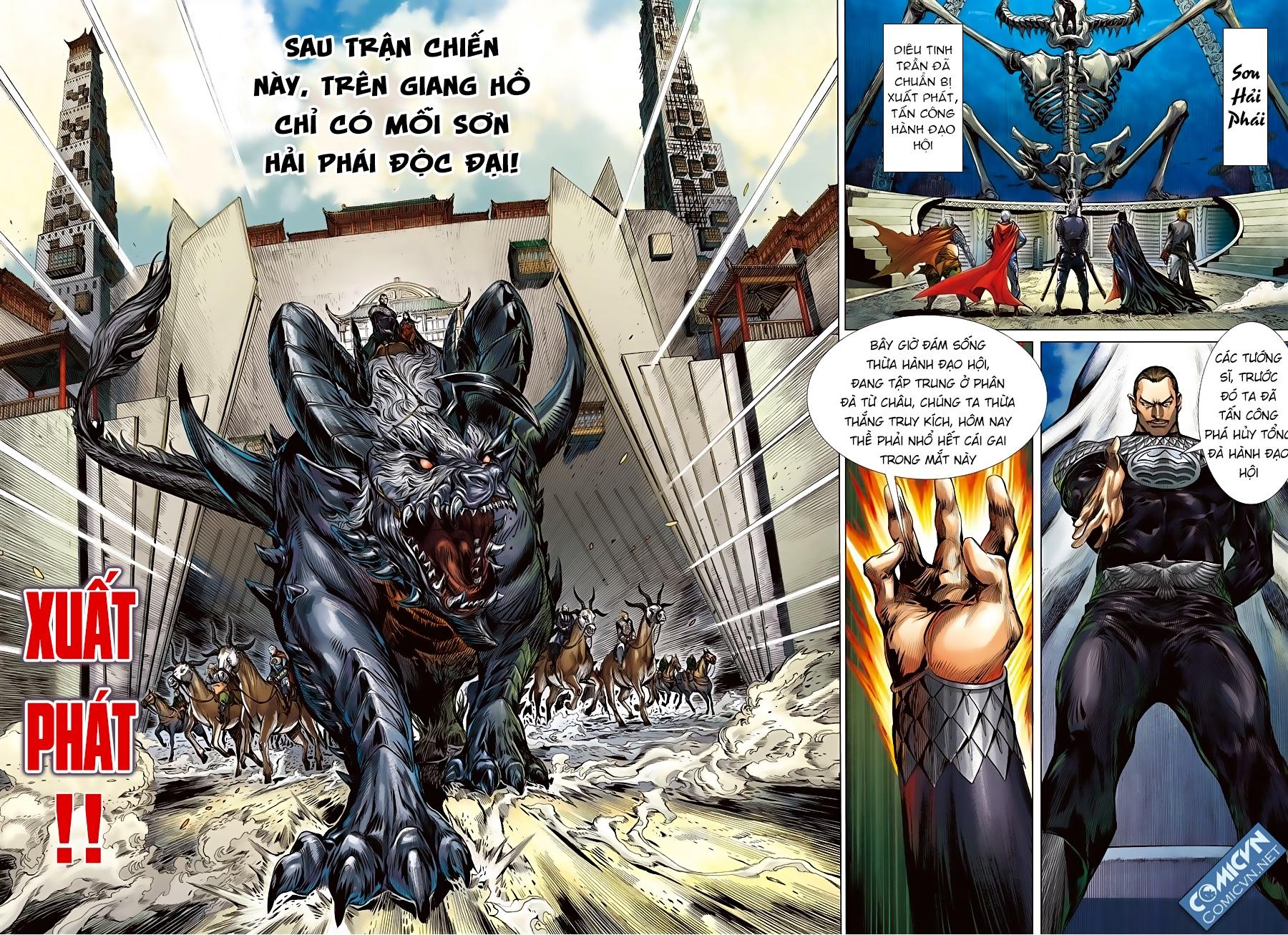 Sơn Hải Nghịch Chiến Chap 83 - Trang 4