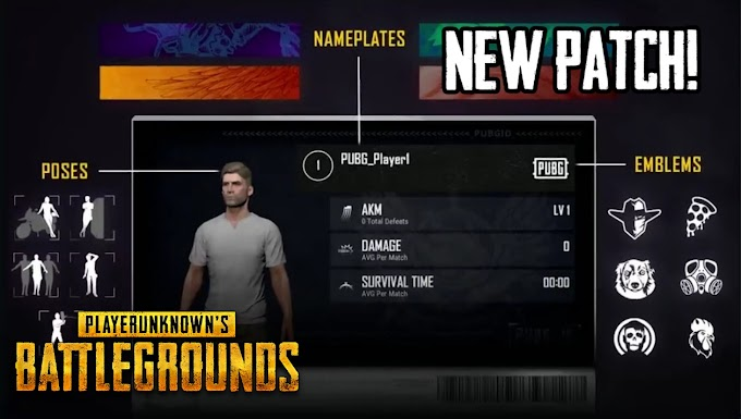 PUBG - New Patch Is Coming With Interesting Things