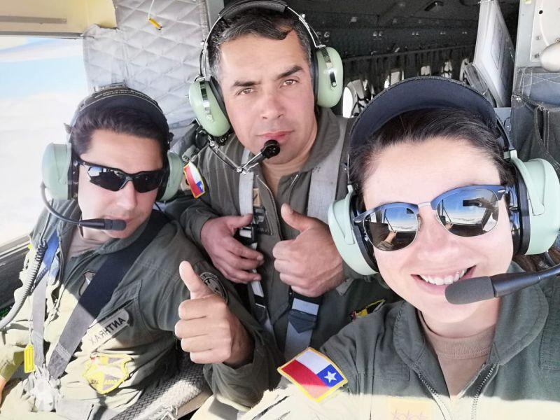 Mujeres pilotos de avión del Ejército