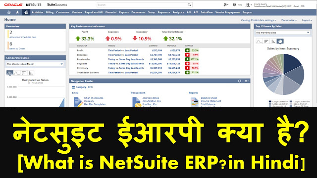 what is netsuit erp software ? in Hindi