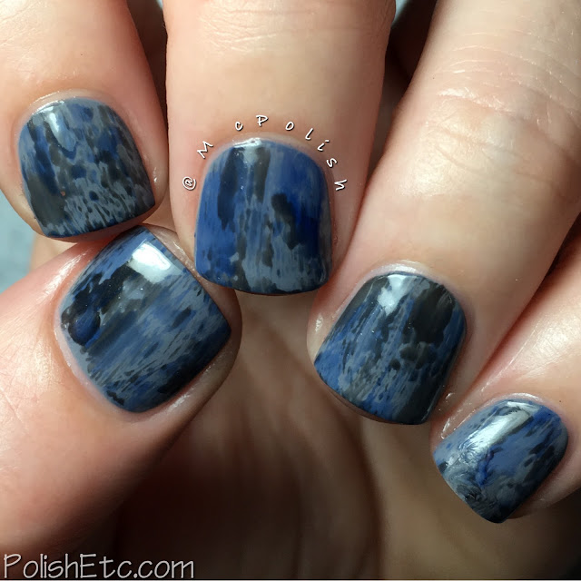 Weekend Nailz - The Syrup Collection - McPolish - jelly dry brush