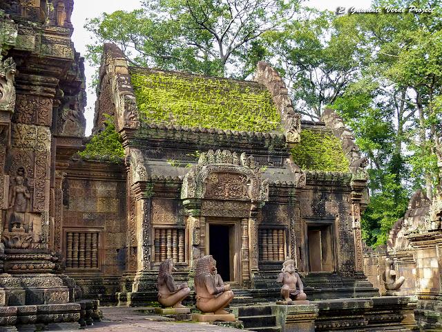 Banteai Srei en Angkor por El Guisante Verde Project