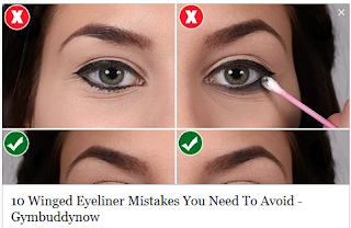 10 Winged Eyeliner Mistakes You Need To Avoid