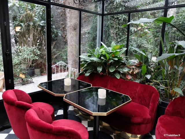 jardin d'hiver hotel particulier montmartre Paris