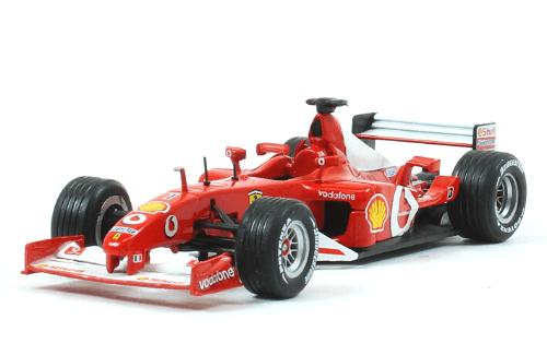 Ferrari F2012 2002 Michael Schumacher f1 the car collection