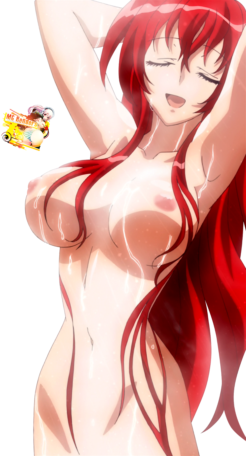 High School DxD Rias Naked-2488