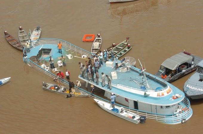 MPF e MP/AM obtêm condenação de responsáveis por naufrágio de embarcação com tripulantes de Alenquer (PA)