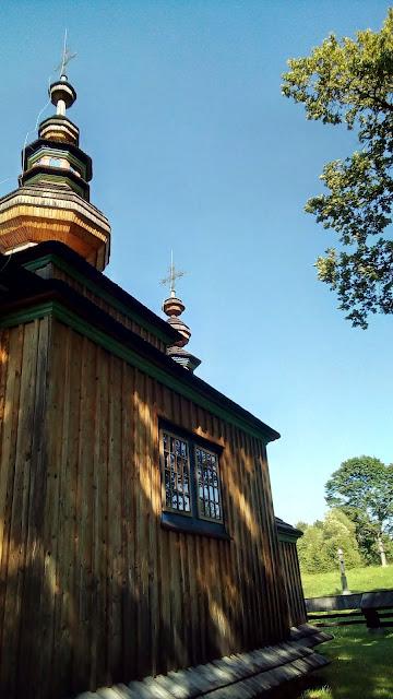 cerkiew (kościół) w Świątkowej Małej - woj. podkarpackie, pow. jasielski