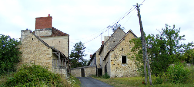 The hamlet of la Boissiere.  Indre et Loire, France. Photographed by Susan Walter. Tour the Loire Valley with a classic car and a private guide.