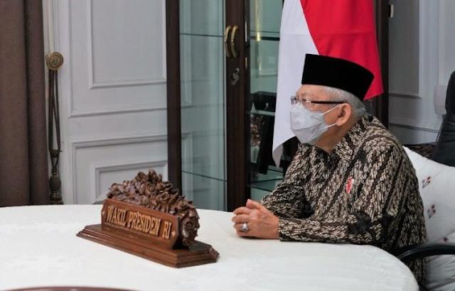 Ma'ruf Amin: Pihak yang Keberatan UU Cipta Kerja Jangan Buat Kegaduhan