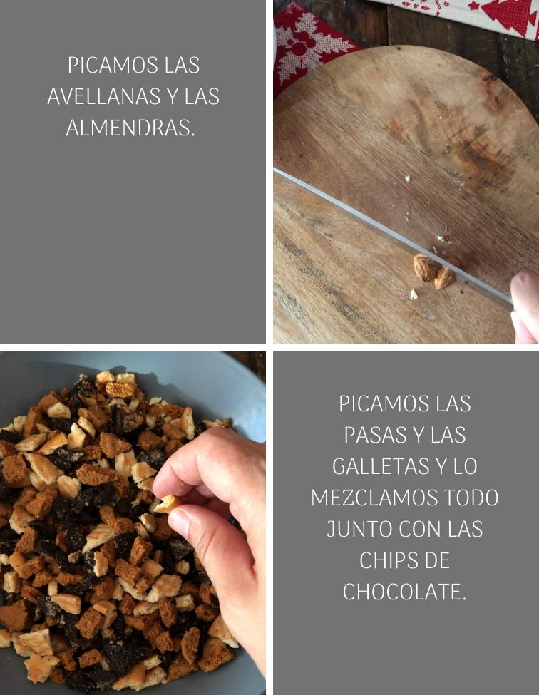 preparacion-de-salami-de-chocolate-galletas-y-frutos-secos-para-navidad