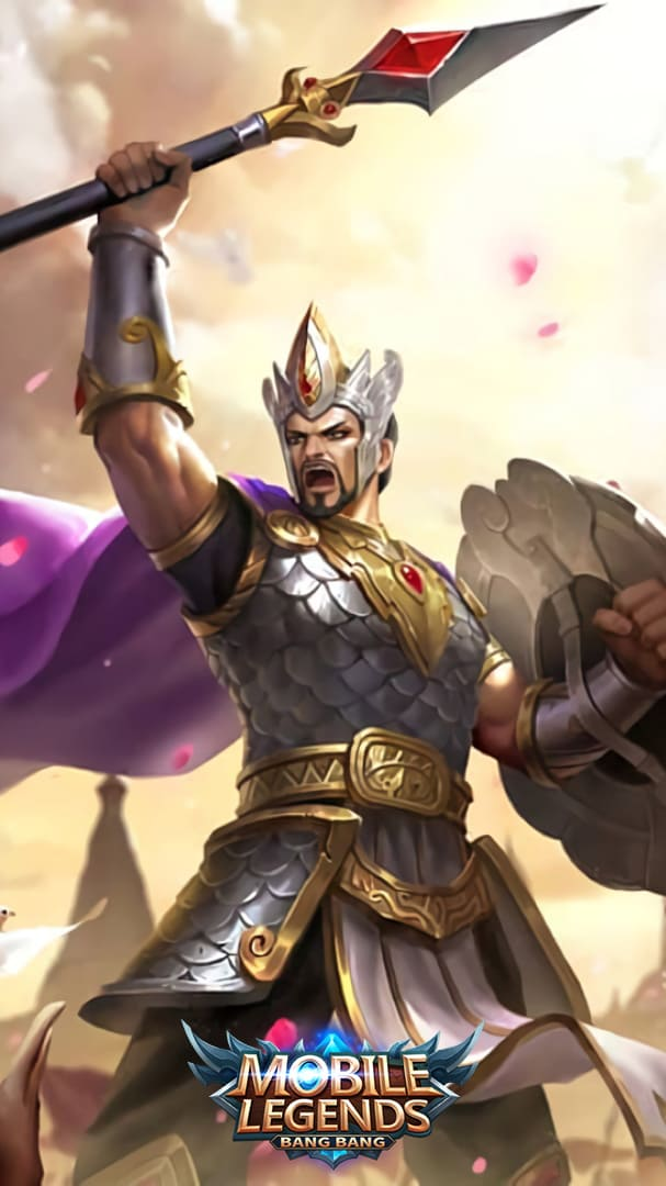 Wallpaper Minsitthar King of War Sittha Skin Mobile Legends HD for Android and iOS