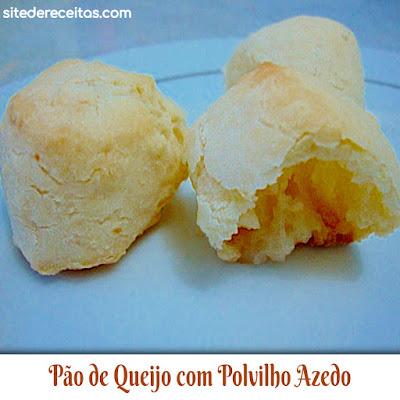 Pão de Queijo com Polvilho Azedo