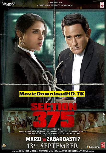 Section 375 2019 Hindi Full Movie Download 720p 1.1GB