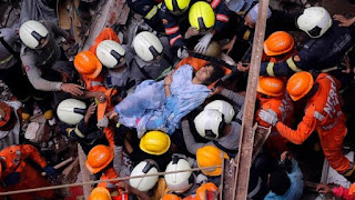 14 dead in Building Collapse, Mumbai, Rescue operations still in progress
