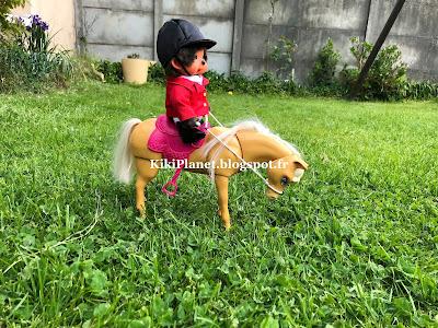 kiki monchhichi écuyer équitation silky terrier toys life