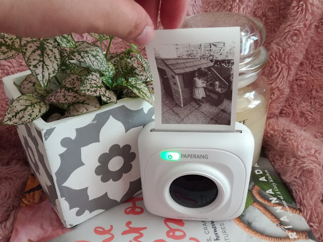 Ma petite imprimante thermique Paperang