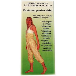 Pantaloni pentru slabire anticelulita marimea L-comanda aici