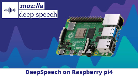 Deep Speech on Raspberry pi 4