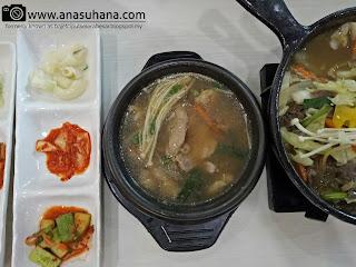 Makanan Asli Korea di Sopoong Melawati Mall