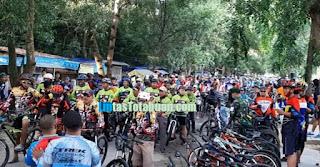 Minggu Sehat, Bupati Labuhanbatu Lepas Dan Ikuti Fun Bike Bersama Ratusan Goweser
