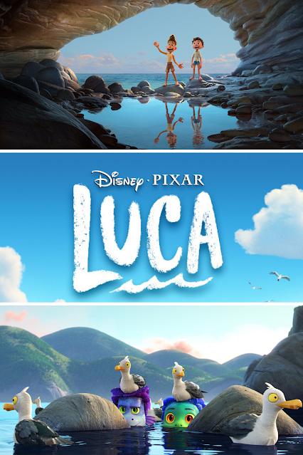 Disney Pixar Luca Movie Still Scenes