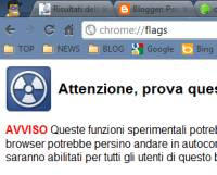 Pagine Chrome avanzate