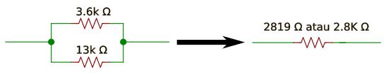 Perhitungan Resistor Paralel Rangkaian Elektronika Dasar