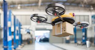 e-commerce products delivery via drone