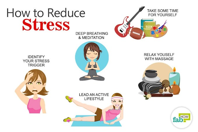 Ways to reduce mental stress
