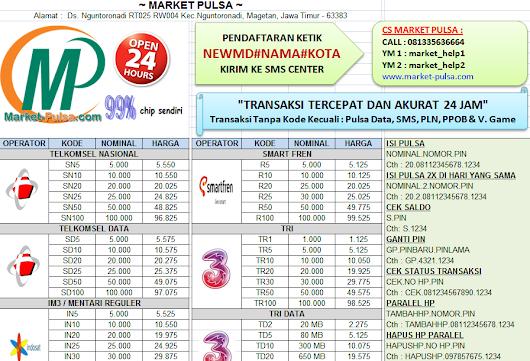 Image Result For Market Pulsa