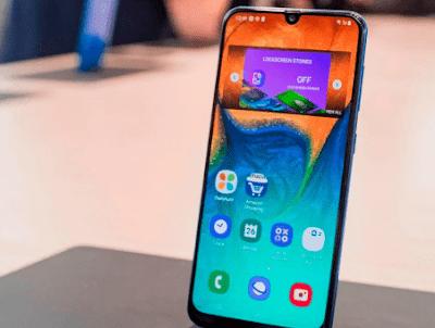 Spesifikasi Layar Samsung Galaxy A30