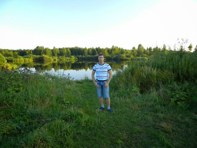 моё фото на фоне Бухаринского плёса