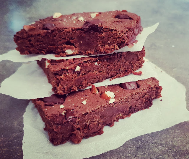 BROWNIE VEGAN PROTÉINÉ