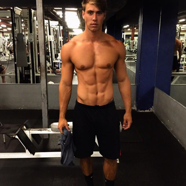 handsome-fit-hipster-male-model-bare-chest-pecs-abs-jawline
