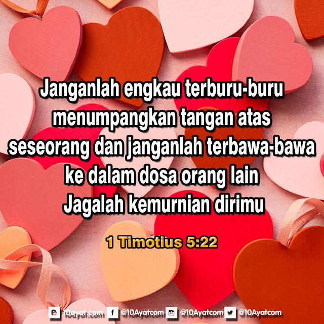 1 Timotius 5:22