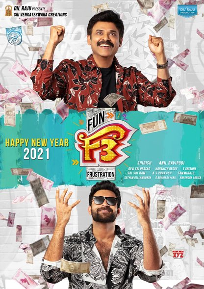 F3: Fun and Frustration Box Office Collection Day Wise, Budget, Hit or Flop - Here check the Telugu movie F3: Fun and Frustration wiki, Wikipedia, IMDB, cost, profits, Box office verdict Hit or Flop, income, Profit, loss on MT WIKI, Bollywood Hungama, box office india