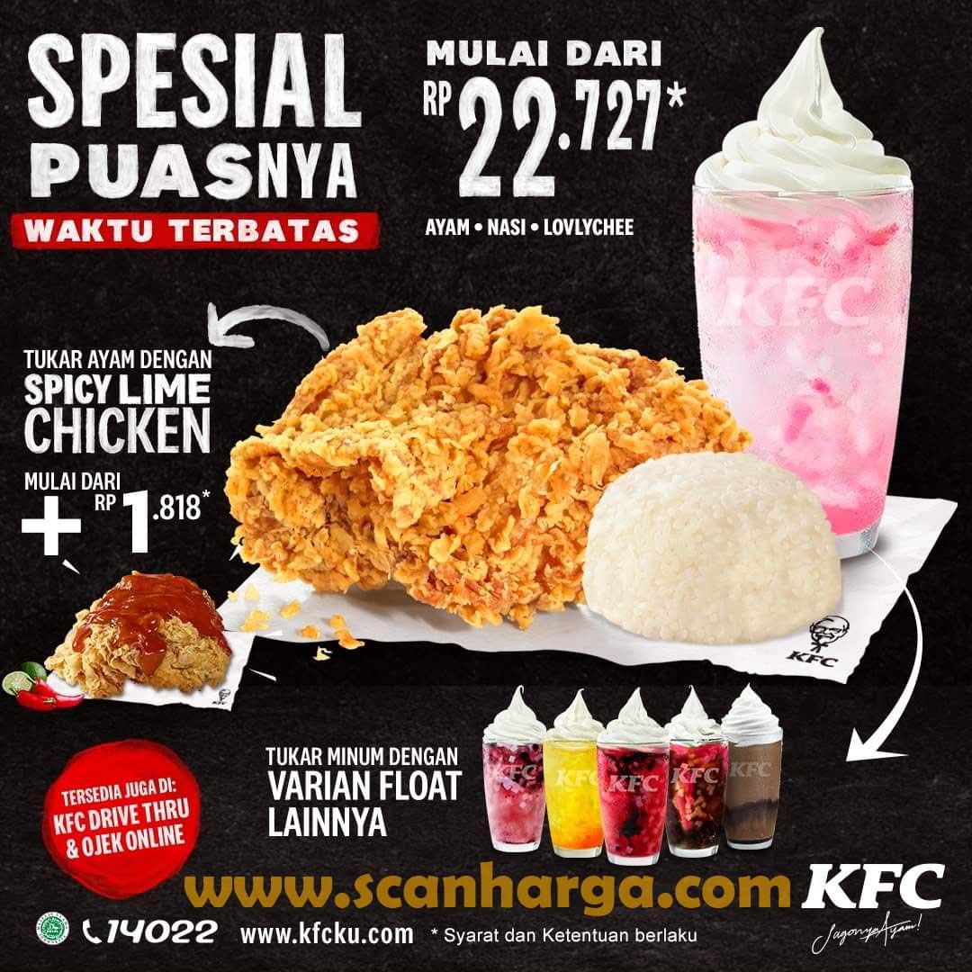 Promo KFC Hari Senin - Kamis Paket Spesial Puasnya