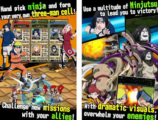 ultimate ninja blazing mod apk gratis
