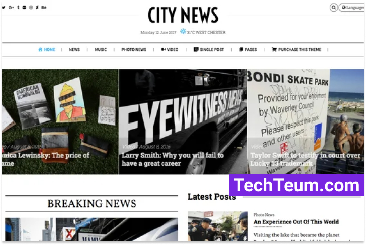City News by ThemeVan (Themeforest)