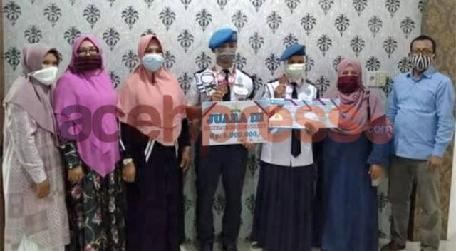 Siswa SMKN Penerbangan Juara di Festival Literasi Sekolah Provinsi Aceh