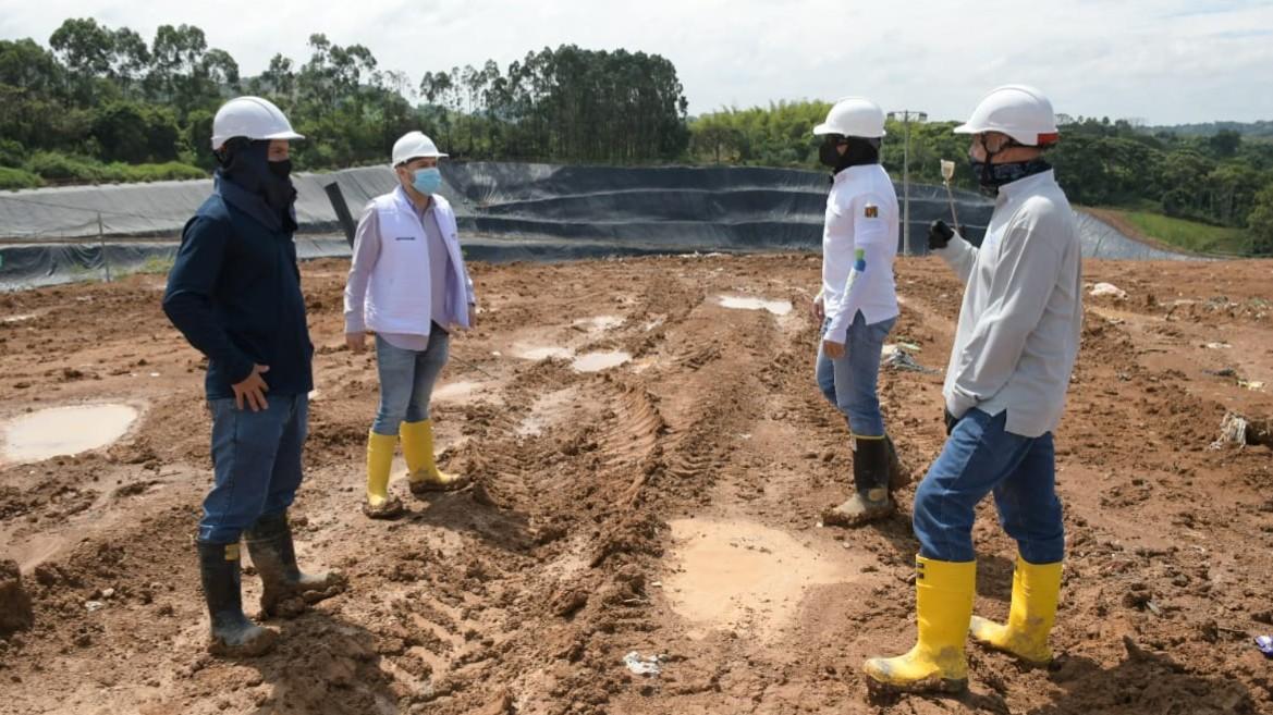 Relleno sanitario La Glorita, es el único en el país que produce agua reciclada para la lavar plazas y parques