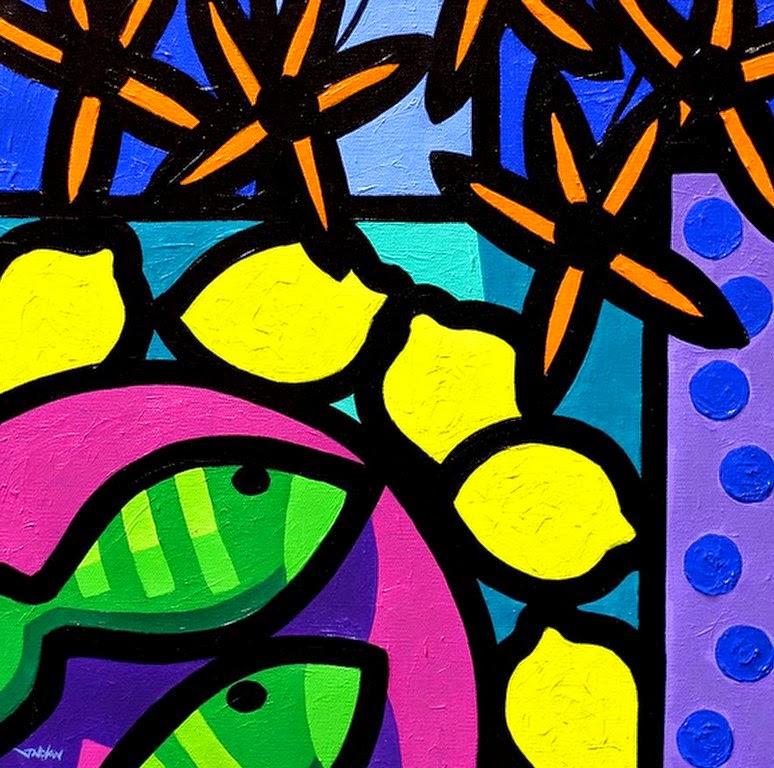 inspiracin para pintar bodegones modernos de frutas grandes
